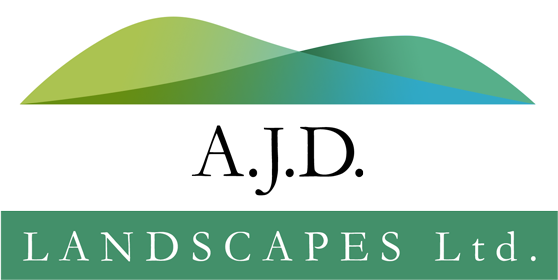 AJD Landscapes Logo